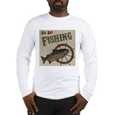 All Day Fishing Long Sleeve T-Shirt