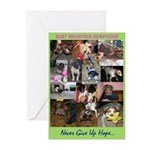 Boat Mountain Survivors Greeting Cards (6 cards)