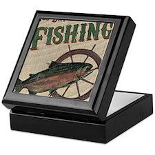 All Day Fishing Keepsake Box
