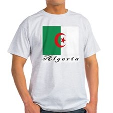 Algeria Ash Grey T-Shirt