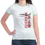 VF-102 DIAMONDBACKS Jr. Ringer T-Shirt