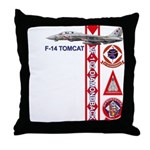 VF-102 DIAMONDBACKS Throw Pillow