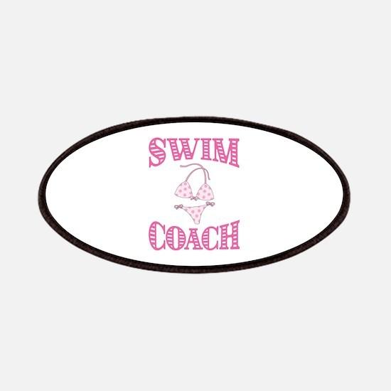 Swim Coach Patch