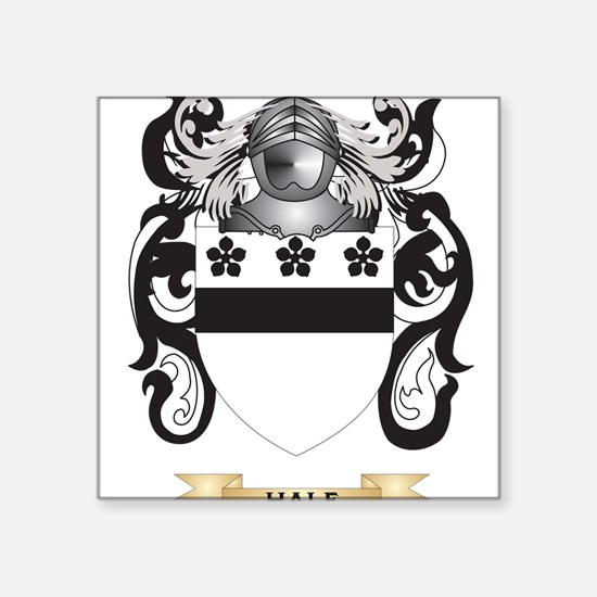 Hale Coat of Arms (Family Crest) Sticker