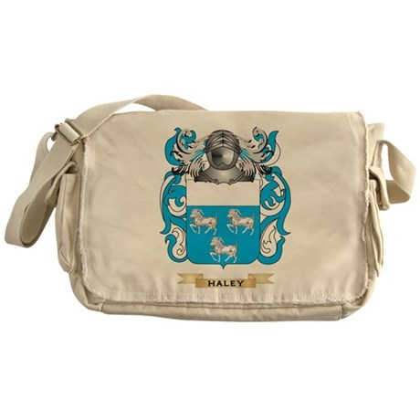 Haley Coat of Arms (Family Crest) Messenger Bag