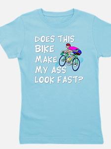 Funny Bike Saying Girl's Tee