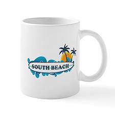 South Beach - Surf Design. Mug
