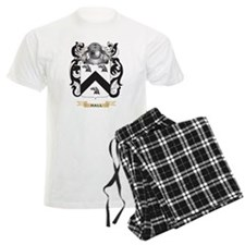 Hall-English Coat of Arms (Family Crest) Pajamas