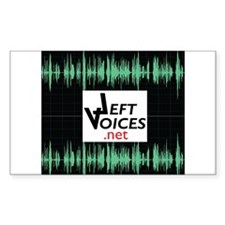 LeftVoices Decal