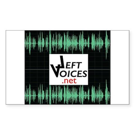 LeftVoices Sticker