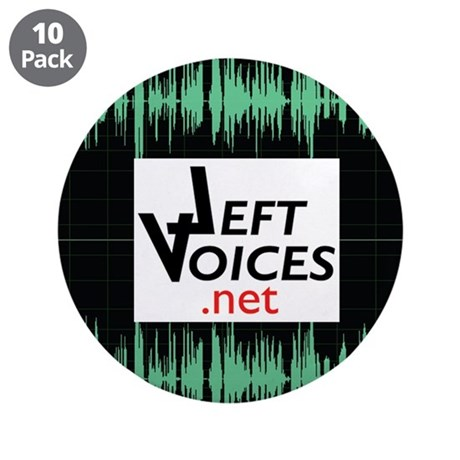 "LeftVoices 3.5"" Button (10 pack)"