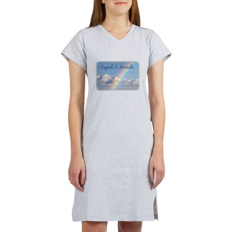 Expect A Miracle Women's Nightshirt