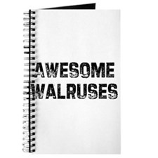 Awesome Walruses Journal
