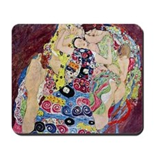 The Virgin By Gustav Klimt Mousepad
