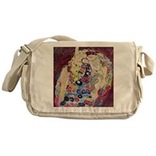 The Virgin By Gustav Klimt Messenger Bag