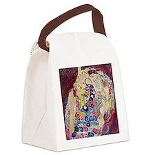 The Virgin By Gustav Klimt Canvas Lunch Bag