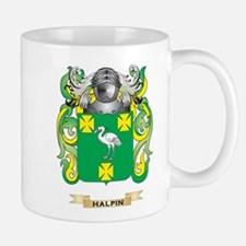 Halpin Coat of Arms (Family Crest) Small Mugs