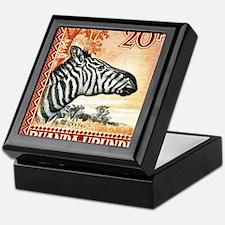 Antique 1942 Ruanda Urundi Zebra Postage Stamp Kee
