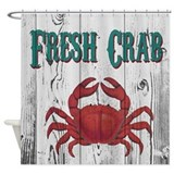 Seafood Shower Curtains