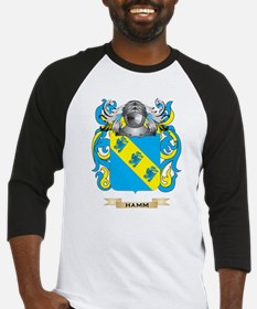 Hamm Coat of Arms (Family Crest) Baseball Jersey