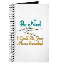 Be Nice - Nurse Humor Journal