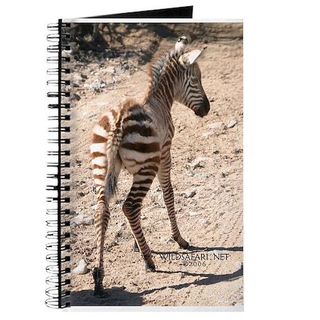 Baby Zebra Journal