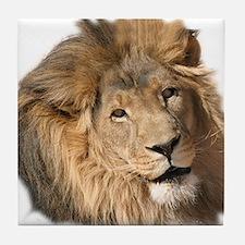 Caring Lion Tile Coaster