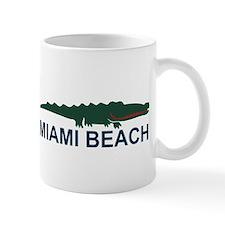 Miami Beach - Alligator Design. Mug