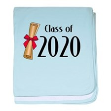 Class of 2020 Diploma baby blanket