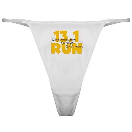 13.1 Run Yellow Classic Thong