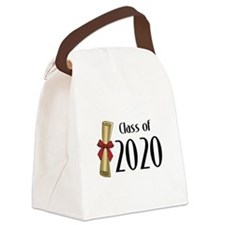 Class of 2020 Diploma Canvas Lunch Bag