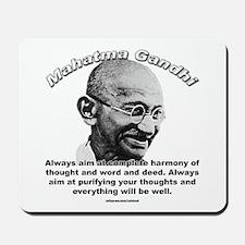 Mahatma Ghandi 01 Mousepad