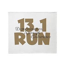 13.1 Run Tan Throw Blanket