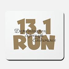 13.1 Run Tan Mousepad