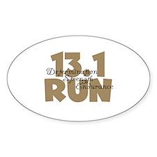 13.1 Run Tan Decal