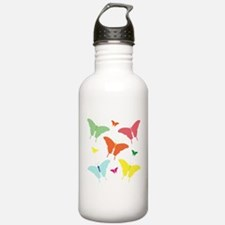 PolkaDot Butterflies Water Bottle