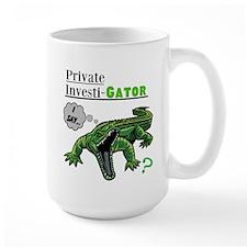 Private Investi-Gator Mug
