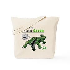 Private Investi-Gator Tote Bag