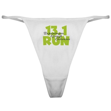 13.1 Run Yellow Classic Thong