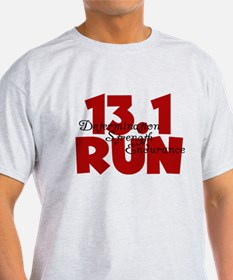 13.1 Run Red T-Shirt