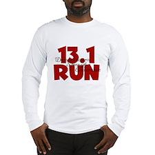 13.1 Run Red Long Sleeve T-Shirt