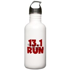13.1 Run Red Water Bottle