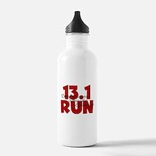 13.1 Run Red Water Bottle