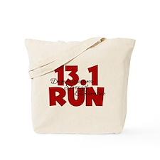 13.1 Run Red Tote Bag