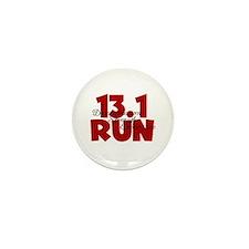 13.1 Run Red Mini Button (10 pack)