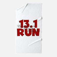 13.1 Run Red Beach Towel