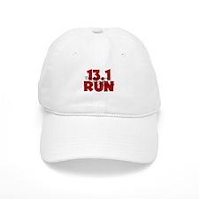 13.1 Run Red Baseball Cap