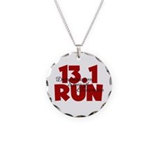 13.1 Run Red Necklace