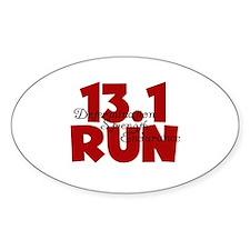13.1 Run Red Decal