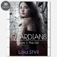 Guardians: The Girl (Book cover # 1) Puzzle